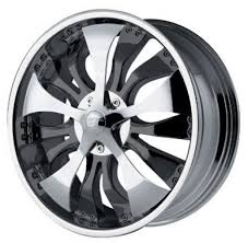 chrome spinner rims