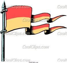 cartoon flags
