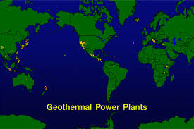 geothermal plants