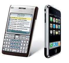 nokia apple iphone