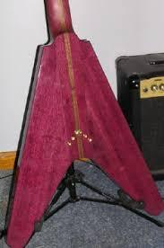 purpleheart guitar