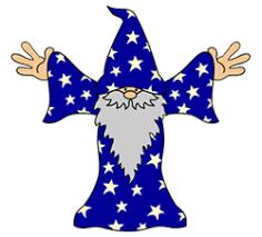 cartoon wizard pictures