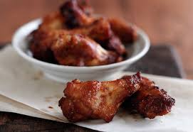 barbecue chicken wing