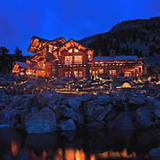 log home house