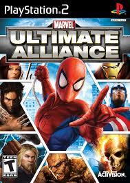 marvel ultimate alliance playstation 2