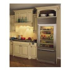 glass refrigerators