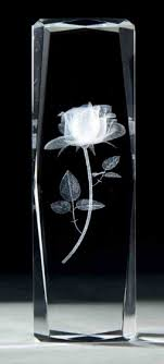 3d glass engraving