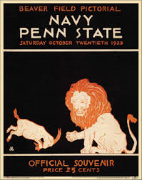 penn state football posters