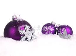 christmas purple