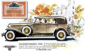 duesenberg automobile