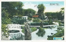 Zanesville postcard post card