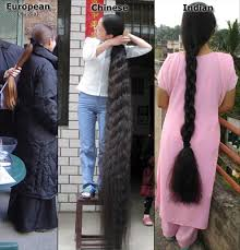 indian long hair style