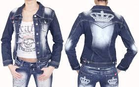 designer denim jacket