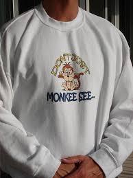 monkey sweatshirts