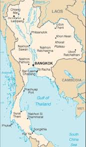 tajlandia mapa