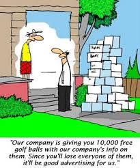 free golf cartoons
