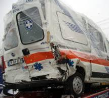 ambulanza tamponata