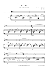 baritone sax sheet music