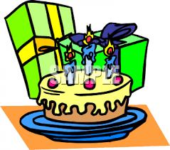 birthday gift clipart
