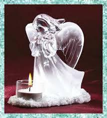 angels candle holder