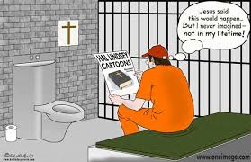 cartoon jail pictures