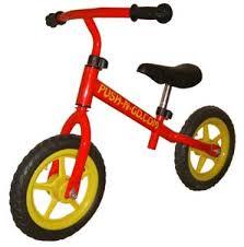 childrens push bikes