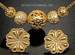 granulated jewelry
