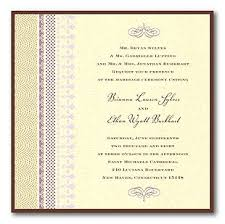 lilac wedding invitation