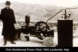 first geothermal power plant