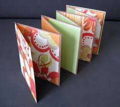 accordion scrapbooks
