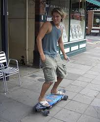 motorized skate board