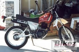 1982 yamaha xt 250