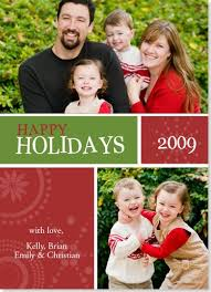 happy holiday card