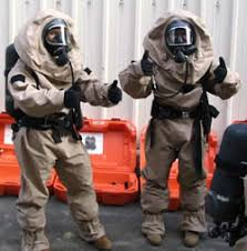 chemical protective gear