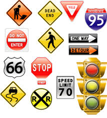 images of road signs