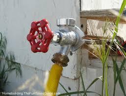 outdoor water taps