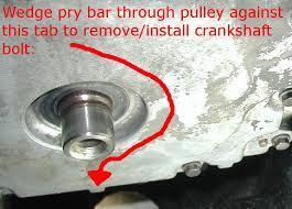 crankshaft pulley puller