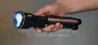 hand flashlight