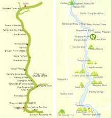 li river map
