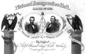 inaugural ball invitation