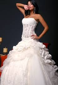 wedding gown corsets