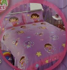 dora bed sheets