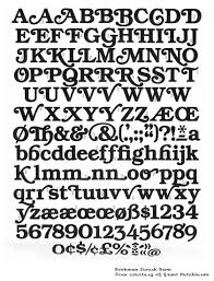 swash fonts