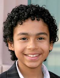 curly hair styles for boys