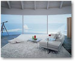 large window covering