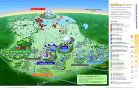 disney hotels map