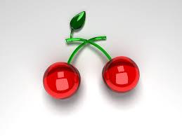 glass cherries