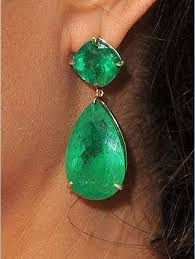 angelina emerald earrings