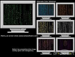 blue matrix screensaver