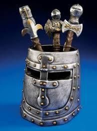 knights templar helmet